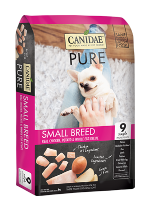 Canidae Grain Free Pure Fields Limited Ingredient Diet For Small Breed Dogs Made With Fresh Chicken