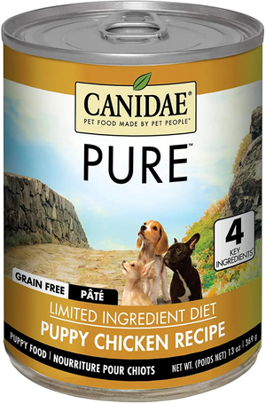 Canidae Grain Free Pure Foundations Chicken Formula Simmered In Chicken Broth For Puppies