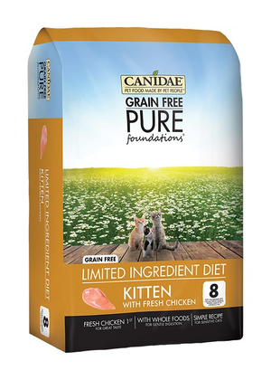 Canidae Grain Free Pure Foundations Limited Ingredient Diet With Fresh Chicken For Kittens