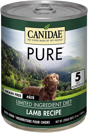 Canidae Grain Free Pure Land Limited Ingredient Diet - Lamb Formula