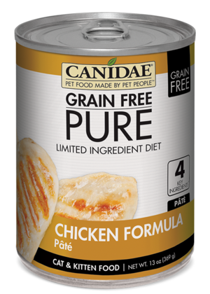 Canidae Grain Free Pure Limited Ingredient Diet Chicken Formula Pate
