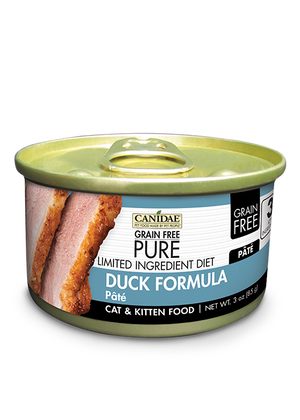 Canidae Grain Free Pure Limited Ingredient Diet Duck Formula Pate
