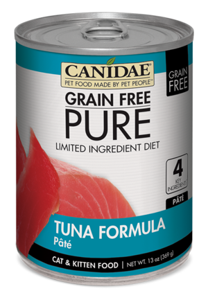 Canidae Grain Free Pure Limited Ingredient Diet Tuna Formula Pate