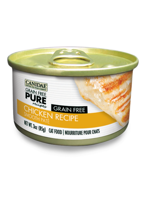 Canidae Grain Free Pure Recipes Chicken Recipe Smooth Pate