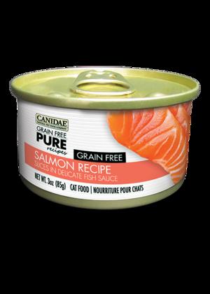 Canidae Grain Free Pure Recipes Salmon Recipe Slices In Delicate Fish Sauce