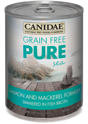 Canidae Grain Free Pure Sea Salmon and Mackerel Formula Simmered In Fish Broth