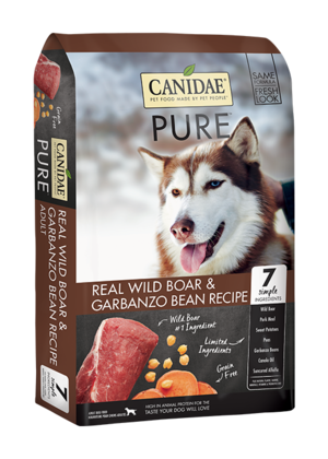 Canidae Grain Free Pure Wild Limited Ingredient Diet Made With Fresh Wild Boar For Adult Dogs