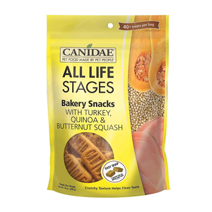 Canidae All Life Stages Bakery Snacks With Turkey, Quinoa & Butternut Squash
