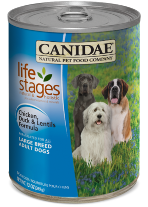 Canidae Life Stages Chicken, Duck and Lentils Formula For Large Breed Adult Dogs