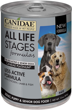 Canidae Life Stages Platinum Formula Made With Chicken, Lamb & Fish