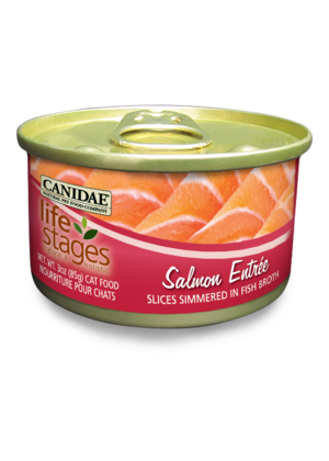 Canidae Life Stages Salmon Entree Slices Simmered In Fish Broth