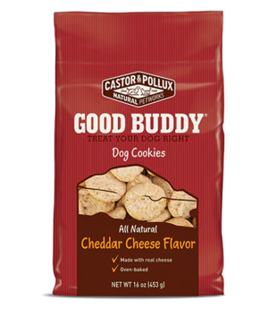 Castor & Pollux Good Buddy Dog Cookies Cheddar Cheese Flavor