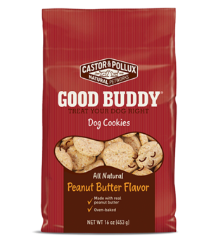Castor & Pollux Good Buddy Dog Cookies Peanut Butter Flavor