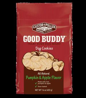 Castor & Pollux Good Buddy Dog Cookies Pumpkin & Apple Flavor
