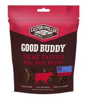 Castor & Pollux Good Buddy Prime Patties Real Beef Recipe