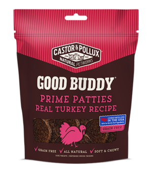 Castor & Pollux Good Buddy Prime Patties Real Turkey Recipe