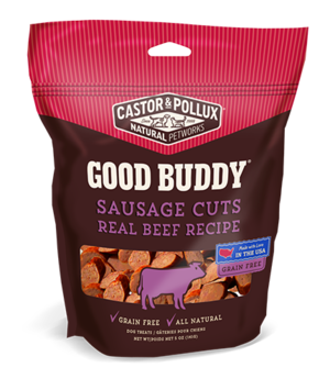 Castor & Pollux Good Buddy Sausage Cuts Real Beef Recipe