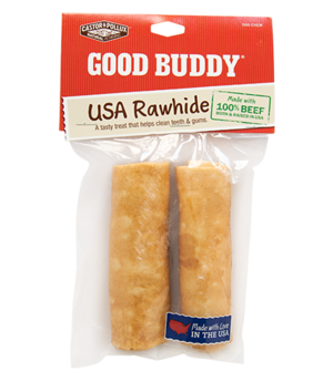 Castor & Pollux Good Buddy USA Rawhide Curls With Natural Chicken Flavor