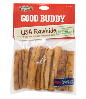 Castor & Pollux Good Buddy USA Rawhide Mini Rolls With Natural Chicken Flavor