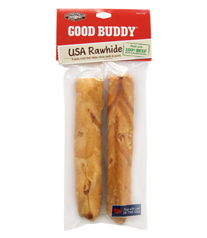Castor & Pollux Good Buddy USA Rawhide Sticks With Natural Chicken Flavor