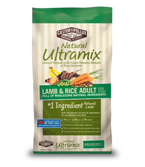 Castor & Pollux Natural Ultramix Lamb & Rice Adult