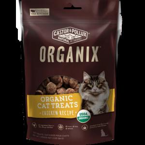 Castor & Pollux Organix Organic Cat Treats Chicken Flavor
