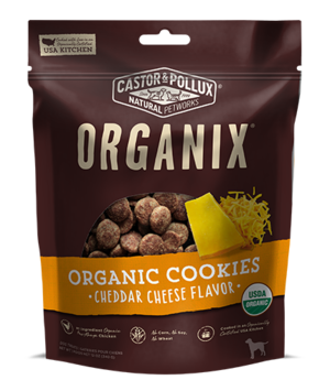 Castor & Pollux Organix Organic Cookies Cheddar Cheese Flavor