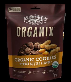 Castor & Pollux Organix Organic Cookies Peanut Butter Flavor