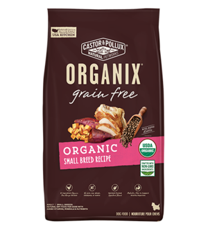 Castor & Pollux Organix Grain Free Organic Small Breed Recipe