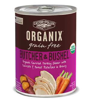 Castor & Pollux Organix Grain Free Butcher & Bushel Organic Carved Turkey Dinner