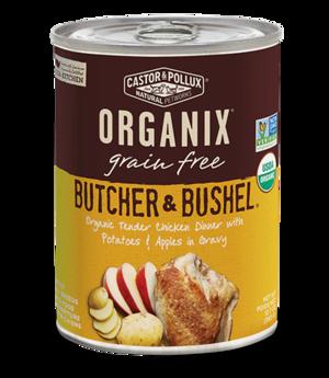 Castor & Pollux Organix Grain Free Butcher & Bushel Organic Tender Chicken Dinner