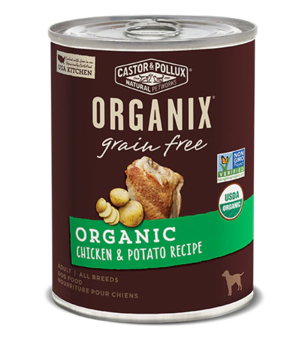 Castor & Pollux Organix Grain Free Organic Chicken & Potato Recipe