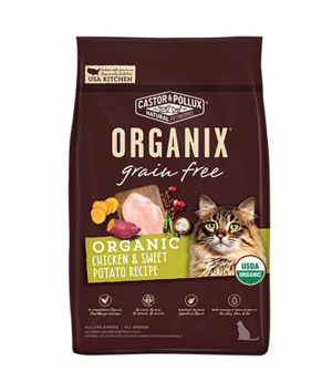 Castor & Pollux Organix Grain Free Organic Chicken & Sweet Potato Recipe