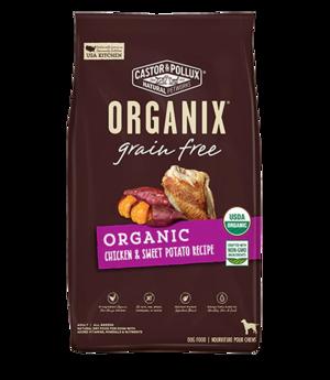 Castor & Pollux Organix Grain Free Organic Chicken & Sweet Potato Recipe