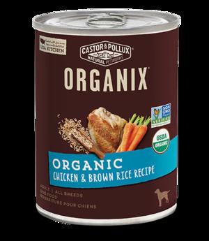 Castor & Pollux Organix Organic Chicken & Brown Rice Recipe