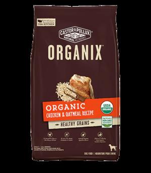 Castor & Pollux Organix Organic Chicken & Oatmeal Recipe