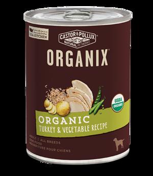 Castor & Pollux Organix Organic Turkey & Vegetable Recipe