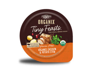 Castor & Pollux Organix Tiny Feasts Grain Free Organic Chicken & Potato Stew