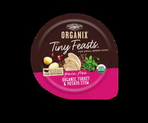 Castor & Pollux Organix Tiny Feasts Grain Free Organic Turkey & Potato Stew