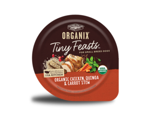 Castor & Pollux Organix Tiny Feasts Organic Chicken, Quinoa & Carrot Stew