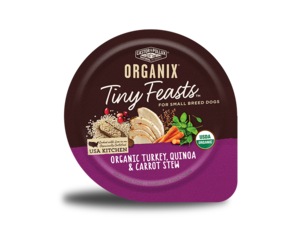 Castor & Pollux Organix Tiny Feasts Organic Turkey, Quinoa & Carrot Stew