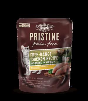 Castor & Pollux Pristine Grain Free Free-Range Chicken Recipe Morsels In Gravy