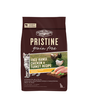 Castor & Pollux Pristine Grain Free Free-Range Chicken & Turkey Recipe