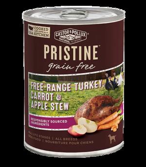 Castor & Pollux Pristine Grain Free Free-Range Turkey, Carrot & Apple Stew