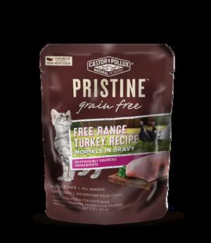 Castor & Pollux Pristine Grain Free Free-Range Turkey Recipe Morsels In Gravy