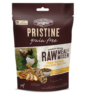 Castor & Pollux Pristine Grain Free Freeze-Dried Raw Meal Or Mixer Free-Range Chicken