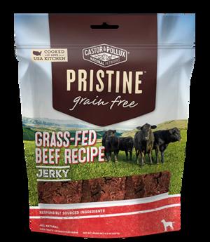 Castor & Pollux Pristine Grain Free Jerky Grass-Fed Beef Recipe