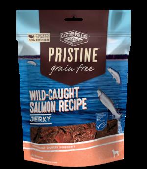 Castor & Pollux Pristine Grain Free Jerky Wild-Caught Salmon Recipe