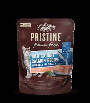 Castor & Pollux Pristine Grain Free Wild-Caught Salmon Recipe Morsels In Gravy