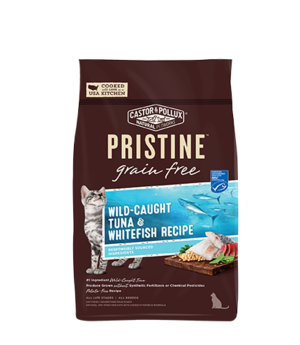 Castor & Pollux Pristine Grain Free Wild-Caught Tuna & Whitefish Recipe